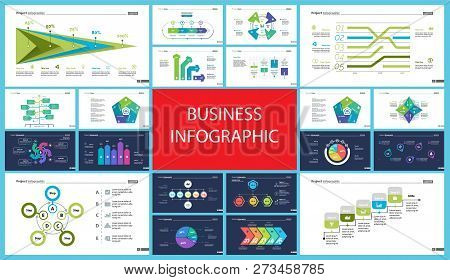 Creative Business Infographic Slide Templates Set Can Be Used For Annual Report, Web Design, Workflo