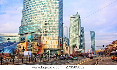 Luxury Residential Project In Warsaw. Development Of Construction Industry In Europe. Stunning Urban