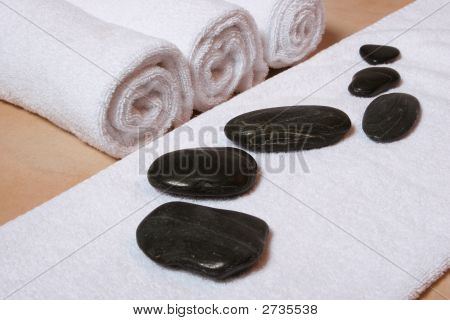 Hotstones With Towel