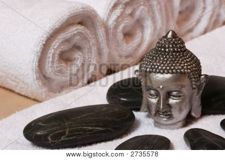 Hotstone With Buddha