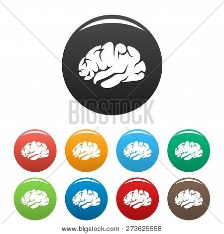 Brainstorming Icon. Simple Illustration Of Brainstorming Icon For Web Design Isolated On White Backg