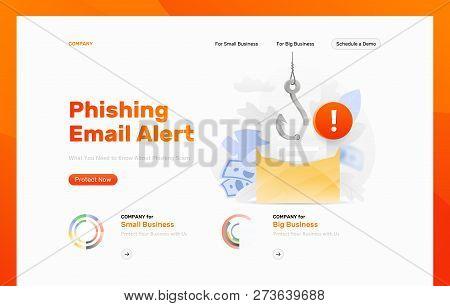 Email Phishing Alert Vector & Photo (Free Trial) | Bigstock