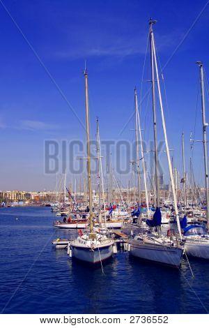 Barcelona, Spanish Harbour