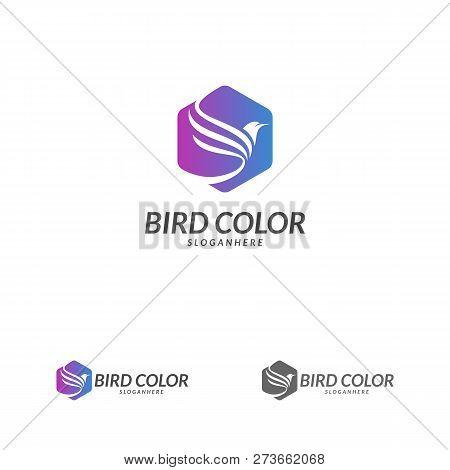 bird logo vector vector photo free trial bigstock
