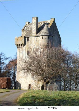 16Th Century Scottish Tower House Portrait