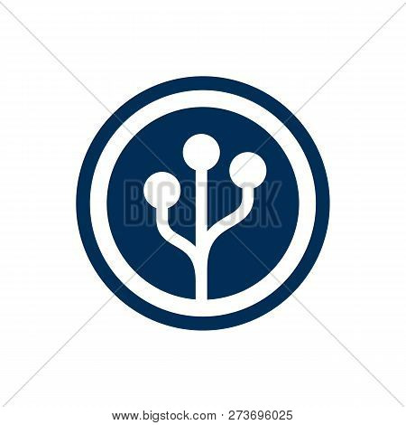 Isolated Crypt Currency Icon Symbol On Clean Background. Vector Cryptography Element In Trendy Style