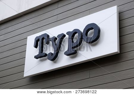 Genting Highlands, Malaysia- Dec 03, 2018: Typo Store In Genting Highlands, Malaysia. Typo Is A Stat