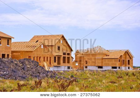 construction of a new homes
