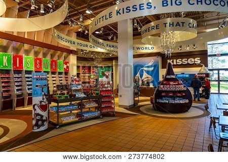 Chocolate World Candy Display Area