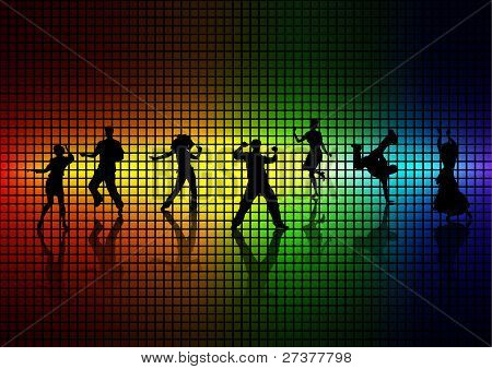 People Dance A Disco.