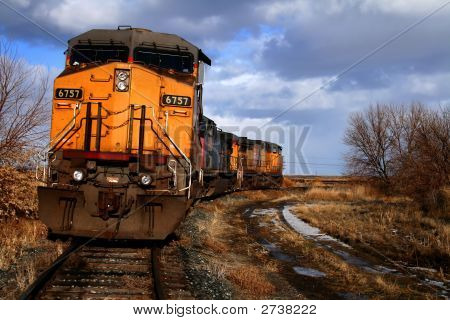 Rural Railroad Scene 2