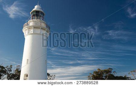 Beautiful Table Cape Lighthouse In Tasmania.