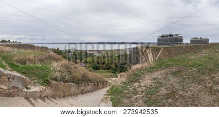 Old Descent To The Estuary In Odessa, Ukraine
