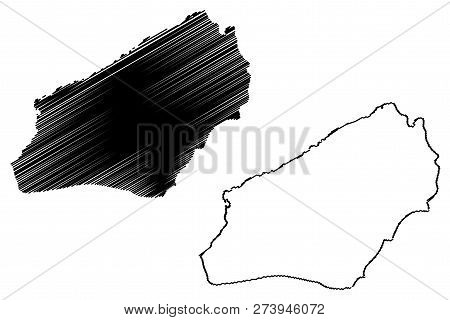 Zonguldak (provinces Of The Republic Of Turkey) Map Vector Illustration, Scribble Sketch Zonguldak I