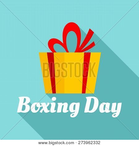 Boxing Final Day Logo Set. Flat Set Of Boxing Final Day Logo For Web Design