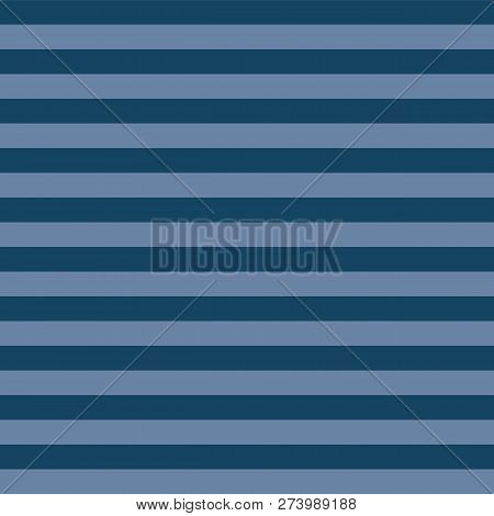 22d2468f Dark Blue And Light Blue Stripes Seamless Vector Pattern. Simple Abstract  Background Texture In Subt