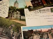 pre-1922 vintage postcards featuring lockport ny poster
