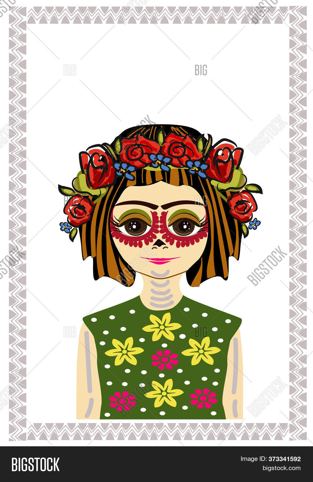 Young Mexican Girl Image Photo Free Trial Bigstock