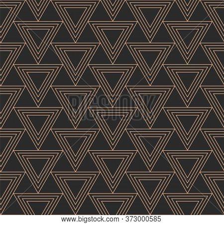 Repetitive Vintage Graphic Geo Array Texture. Repeat Fabric Vector, Continuous Repetition Pattern. C