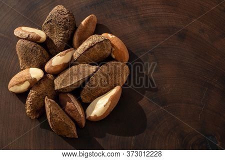 Chestnuts From Para, Also Known As Brazil Nuts (in Portuguese: Castanha-do-pará Or Castanha-do-brasi