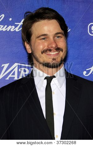 LOS ANGELES - SEP 21:  Jason Ritter arrives at the Variety and Women in Film Pre-Emmy Event at Scarpetta on September 21, 2012 in Beverly Hills, CA