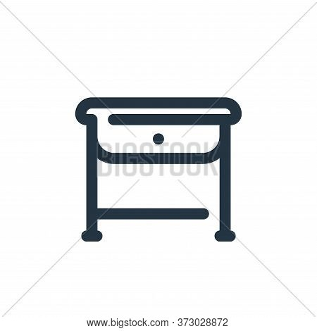 table icon isolated on white background from  collection. table icon trendy and modern table symbol