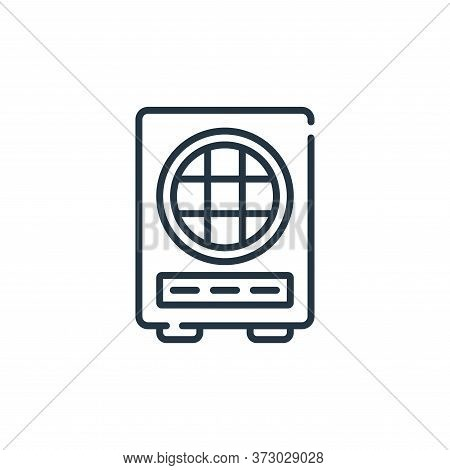 Loud Speaker Vector Icon Isolated On White Background.