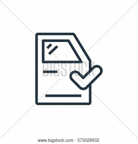 exterior icon isolated on white background from  collection. exterior icon trendy and modern exterio