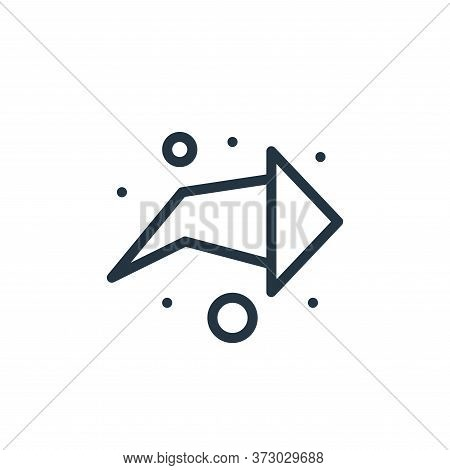arrow right icon isolated on white background from  collection. arrow right icon trendy and modern a