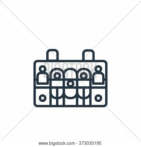 case icon isolated on white background from  collection. case icon trendy and modern case symbol for