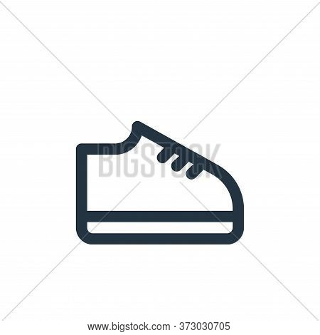 shoes icon isolated on white background from  collection. shoes icon trendy and modern shoes symbol