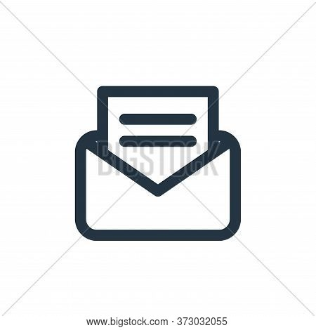message icon isolated on white background from  collection. message icon trendy and modern message s