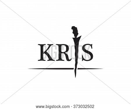 Indonesian Java Kris Symbol Vector Illustration