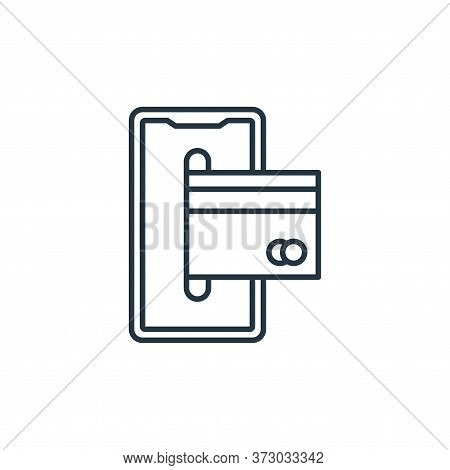 smartphone icon isolated on white background from  collection. smartphone icon trendy and modern sma