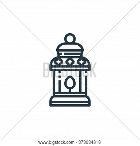 lamp icon isolated on white background from  collection. lamp icon trendy and modern lamp symbol for