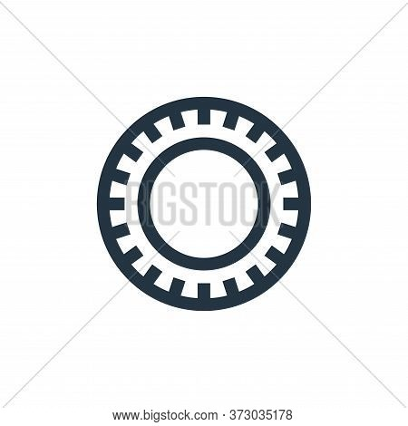 plate icon isolated on white background from  collection. plate icon trendy and modern plate symbol