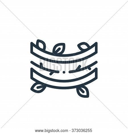 vines icon isolated on white background from  collection. vines icon trendy and modern vines symbol