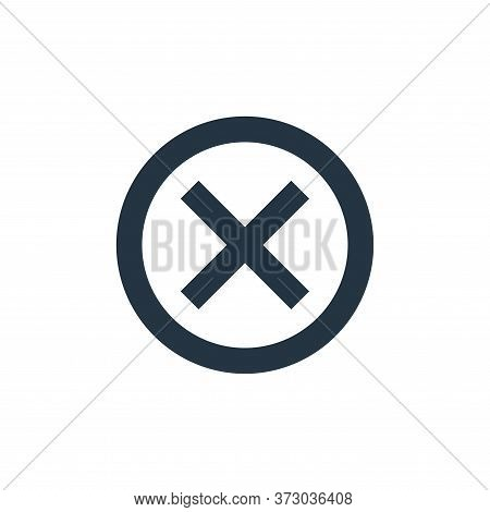 cross sign icon isolated on white background from  collection. cross sign icon trendy and modern cro