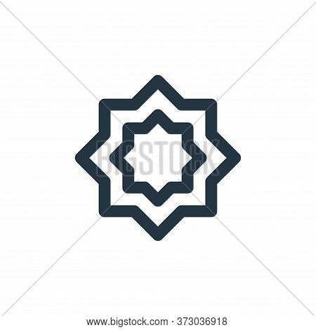 rub el hizb icon isolated on white background from  collection. rub el hizb icon trendy and modern r