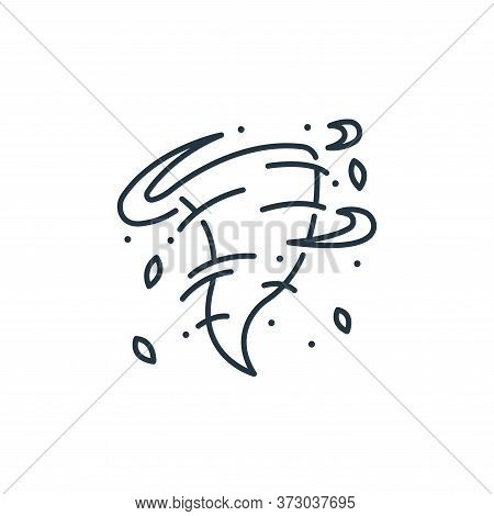 storm icon isolated on white background from  collection. storm icon trendy and modern storm symbol