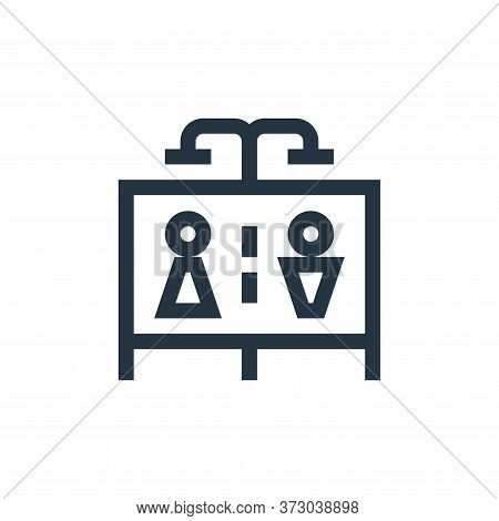 shower icon isolated on white background from  collection. shower icon trendy and modern shower symb