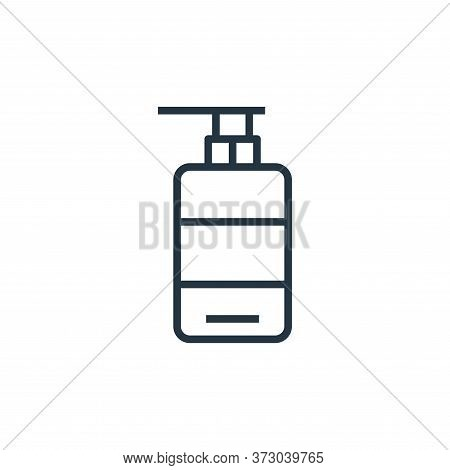 liquid soap icon isolated on white background from  collection. liquid soap icon trendy and modern l