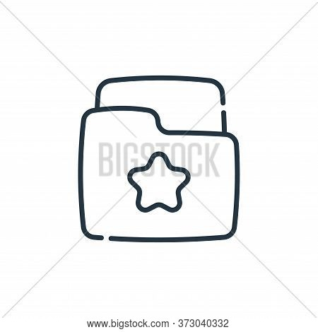 folder icon isolated on white background from  collection. folder icon trendy and modern folder symb