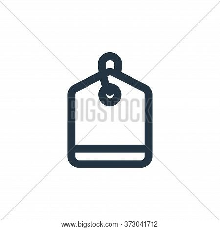 tag icon isolated on white background from  collection. tag icon trendy and modern tag symbol for lo