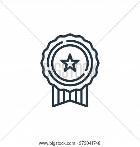 medal icon isolated on white background from  collection. medal icon trendy and modern medal symbol