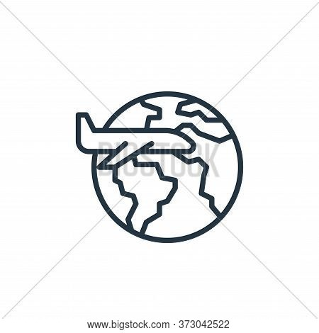 travel icon isolated on white background from  collection. travel icon trendy and modern travel symb