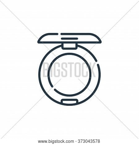 powder icon isolated on white background from  collection. powder icon trendy and modern powder symb