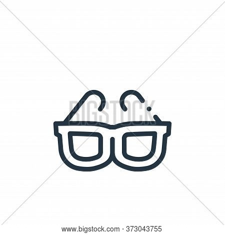 sunglasses icon isolated on white background from  collection. sunglasses icon trendy and modern sun