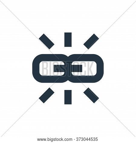 link icon isolated on white background from  collection. link icon trendy and modern link symbol for