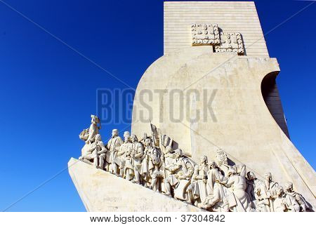 Monument to the Portuguese Sea Discoveries. Lisbon, Portugal